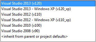 Migrating Projects Created with Visual Studio Versions Earlier than 2010