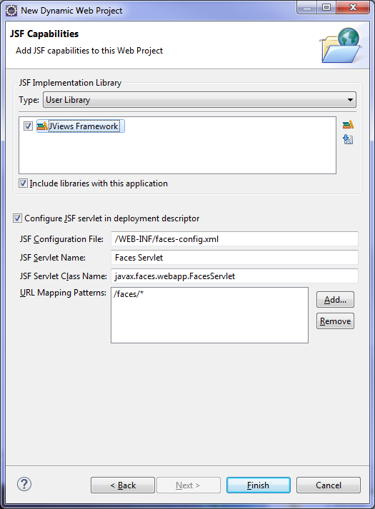Getting started with JViews JSF applications